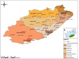 Tick Distribution (Acarina: Ixodidae), Age Profile, Veld Condition and Red Meat Production as Key Constraints for Low-Input Farming Areas in the Eastern Cape Province, South Africa